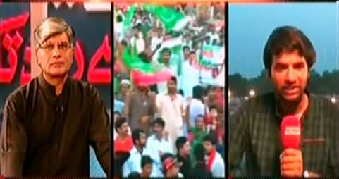 Khabar Se Agey (Imran Khan Travel From Vote to Road) – 27th June 2014