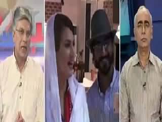 Khabar Se Agey (NA-122: Imran Khan Vs Ayaz Sadiq) – 17th August 2015