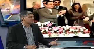 Khabar Se Agey (Nawaz Sharif Supports Raza Rabbani For Chairman Senate) – 10th March 2014