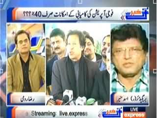 Khabar Se Agey (Only 40% Chances of Success in Military Operation) – 12th February 2014