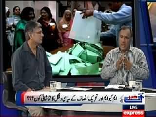 Khabar Se Agey (PTI Aur MQM Mein Siasi Dangal) – 22nd April 2015