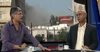 Khabar Se Agey (PTI & MQM Face To Face Before Elections) – 13th April 2014