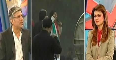 Khabar Se Agey (PTI's Lock Down in Karachi) - 12th December 2014
