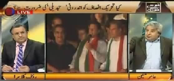 Khabar Se Khabar Tak (Do PTI Need Internal Changes?) – 2nd November 2015