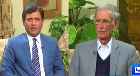 Khabar Yeh Hai (Pervez Khattak Exclusive Interview) - 18th February 2017