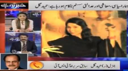 Khabar Yeh Hai (PTI and PAT Marches Entered in Red Zone) - 20th August 2014