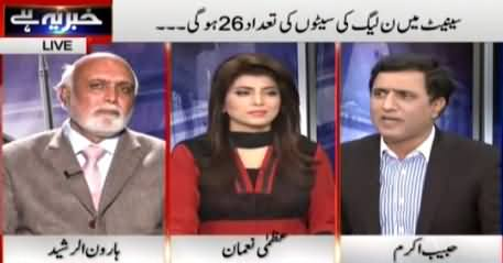Khabar Yeh Hai (Senate Elections: PMLN & PPP Brabar Brabar) – 6th March 2015