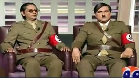 Khabarnaak (Adolf Hitler And Dr. Ggoebbels Dummy) – 21st June 2015