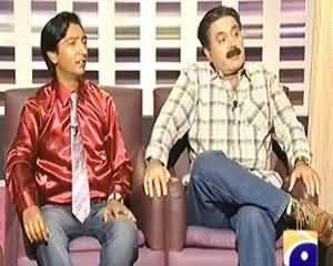Khabarnaak (Aftab Iqbal Dummy as Afat Iqbal Hosting Himself) - 1st September 2013