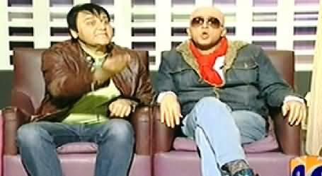Khabarnaak (Ali Azmat Dummy with A Rejected Singer) – 21st February 2014