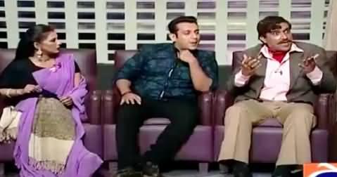 Khabarnaak (Amrish Puri Dummy & Salman Khan Duplicate) – 16th October 2015