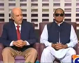 Khabarnaak (Ch. Shujaat Dummy with Senator Mushahid and Khawaja Asif Dummy with Nuclear Scientist) - 13th October 2013