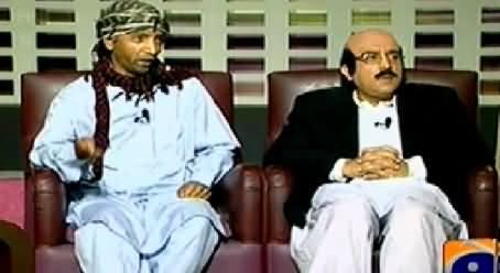 Khabarnaak (CM Sindh Qaim Ali Shah Dummy) – 25th January 2015