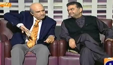 Khabarnaak (Dummy of Mushahid Hussain Syed & Zaeem Qadri) - 7th November 2014