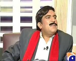 Khabarnaak EID Special 2 (Sheikh Rasheed Dummy, Hamid Ali Khan Singer, Maiza Hameed) - 9th August 2013