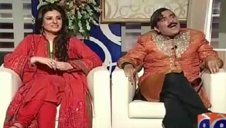 Khabarnaak Eid Special (Actress Resham & Sheikh Rasheed Dummy) – 19th July 2015