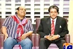 Khabarnaak (Governor Sindh Dr. Ishrat ul Ebad Dummy with A Gangster of Layari) – 28th September 2013