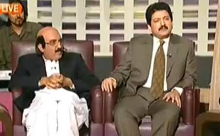 Khabarnaak (Hamid Mir As Guest and Qaim Ali Shah Dummy) - 18th October 2014