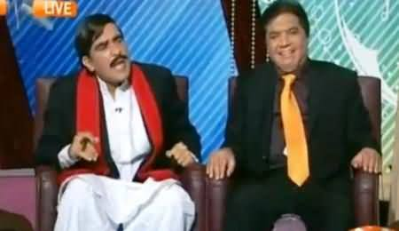 Khabarnaak (Hanif Abbasi & Sheikh Rasheed Dummy) - 10th October 2014