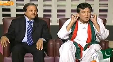 Khabarnaak (Imran Khan Dummy & Mazhar Abbas) – 25th October 2014