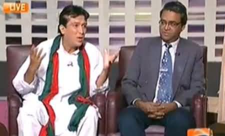 Khabarnaak (Imran Khan Dummy & Wajahat Masood) – 16th October 2014