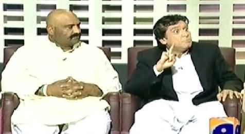 Khabarnaak (Imran Khan Dummy with A PTI Worker) – 5th April 2014