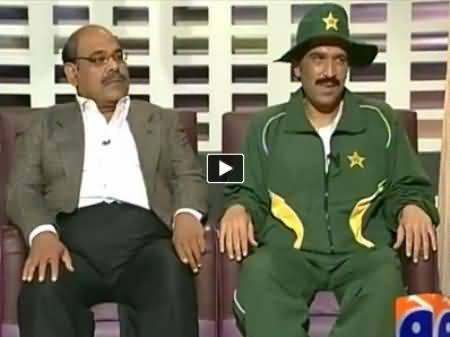 Khabarnaak (Javed Miandad and A Member of Big 3) – 9th March 2014
