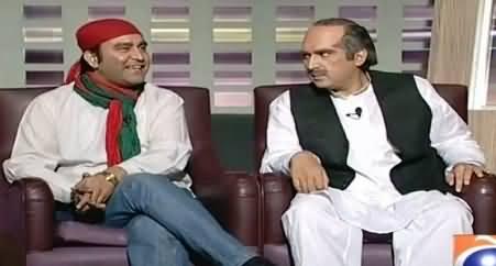 Khabarnaak (Khawaja Saad Rafique Dummy & PTI Worker) – 9th May 2015