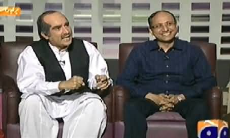 Khabarnaak (Khawaja Saad Rafique Dummy & PPP Saeed Ghani) – 28th September 2014