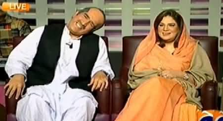Khabarnaak (Khawaja Saad Rafique Dummy & Samina Khawar Hayat) – 31st January 2015