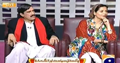 Khabarnaak Live (Mehmal Sarfraz & Sheikh Rasheed Dummy) – 15th August 2014