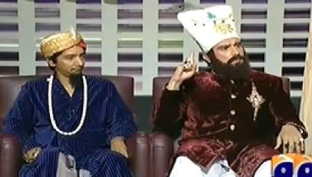 Khabarnaak (Mera Sultan and Batera Sultan Dummy) - 1st August 2014