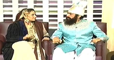 Khabarnaak (Mera Sultan with His Wife Khurram Sultan) – 18th January 2014