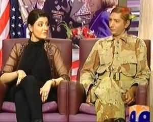 Khabarnaak on Geo News – 21th July 2013 (General Petraeus and Paula Dummy)