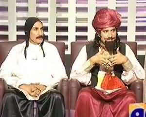 Khabarnaak on Geo News – 27th July 2013 (Umro Ayyar Dummy and His Friend)