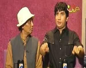 Khabarnaak on Geo News – 28th July 2013 (Pervez Musharraf Dummy and His Lawyer)