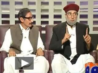 Khabarnaak on Geo News - 31th May 2013 (Zaid Hamid Dummy)
