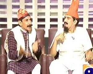 Khabarnaak on Geo News - 3rd August 2013 (Sheikh Chilli Dummy)
