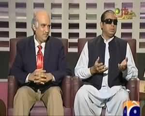 Khabarnaak on Geo News – 4th August 2013 (Chris Gayle Dummy and Javed Miandad Dummy)