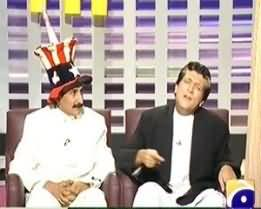 Khabarnaak on Geo News – 9th June 2013 (Imran Khan and Drones Dummy)