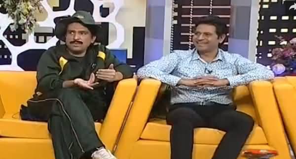 Khabarnaak on Geo News (Comedy Show) - 10th July 2016