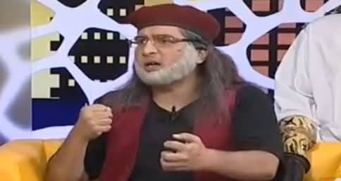 Khabarnaak on Geo News (Comedy Show) - 10th September 2016