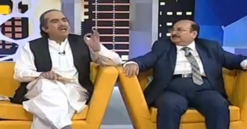 Khabarnaak on Geo News (Comedy Show) - 11th September 2016