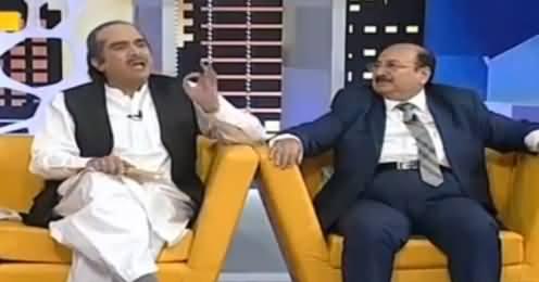Khabarnaak on Geo News (Comedy Show) - 11th September 2016