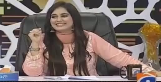 Khabarnaak on Geo News (Comedy Show) - 12th August 2016