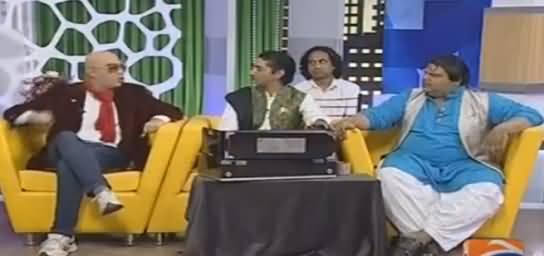 Khabarnaak on Geo News (Comedy Show) - 13th August 2016