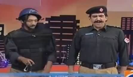 Khabarnaak on Geo News (Comedy Show) - 14th October 2016