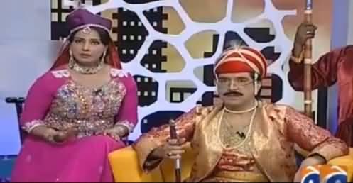 Khabarnaak on Geo News (Comedy Show) - 16th July 2016