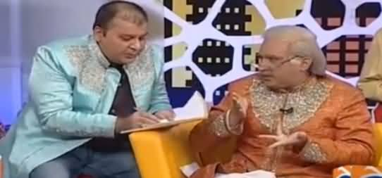 Khabarnaak on Geo News (Comedy Show) - 17th September 2016