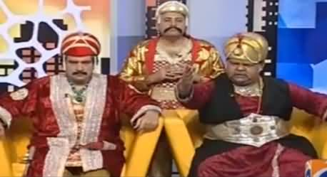 Khabarnaak on Geo News (Comedy Show) - 18th December 2016
